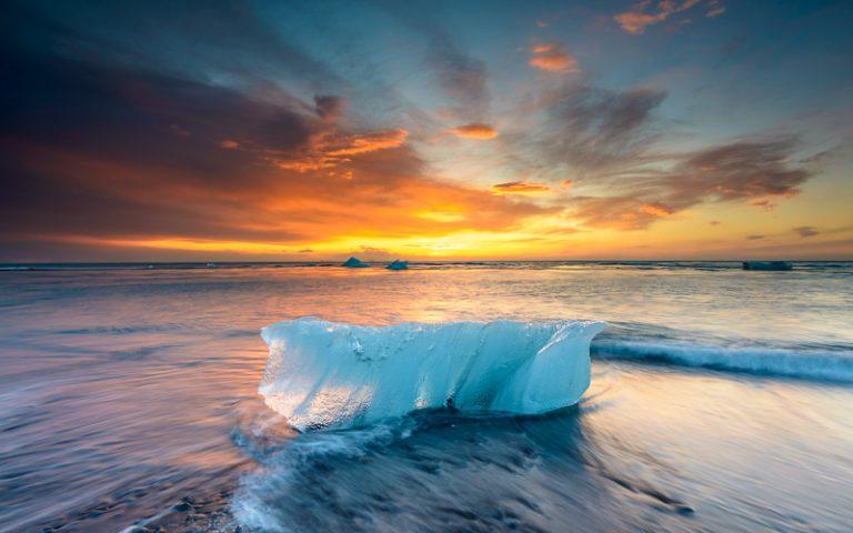 fotografia di paesaggio ghiaccio