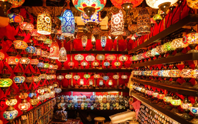 bazaar: lamps and lanterns